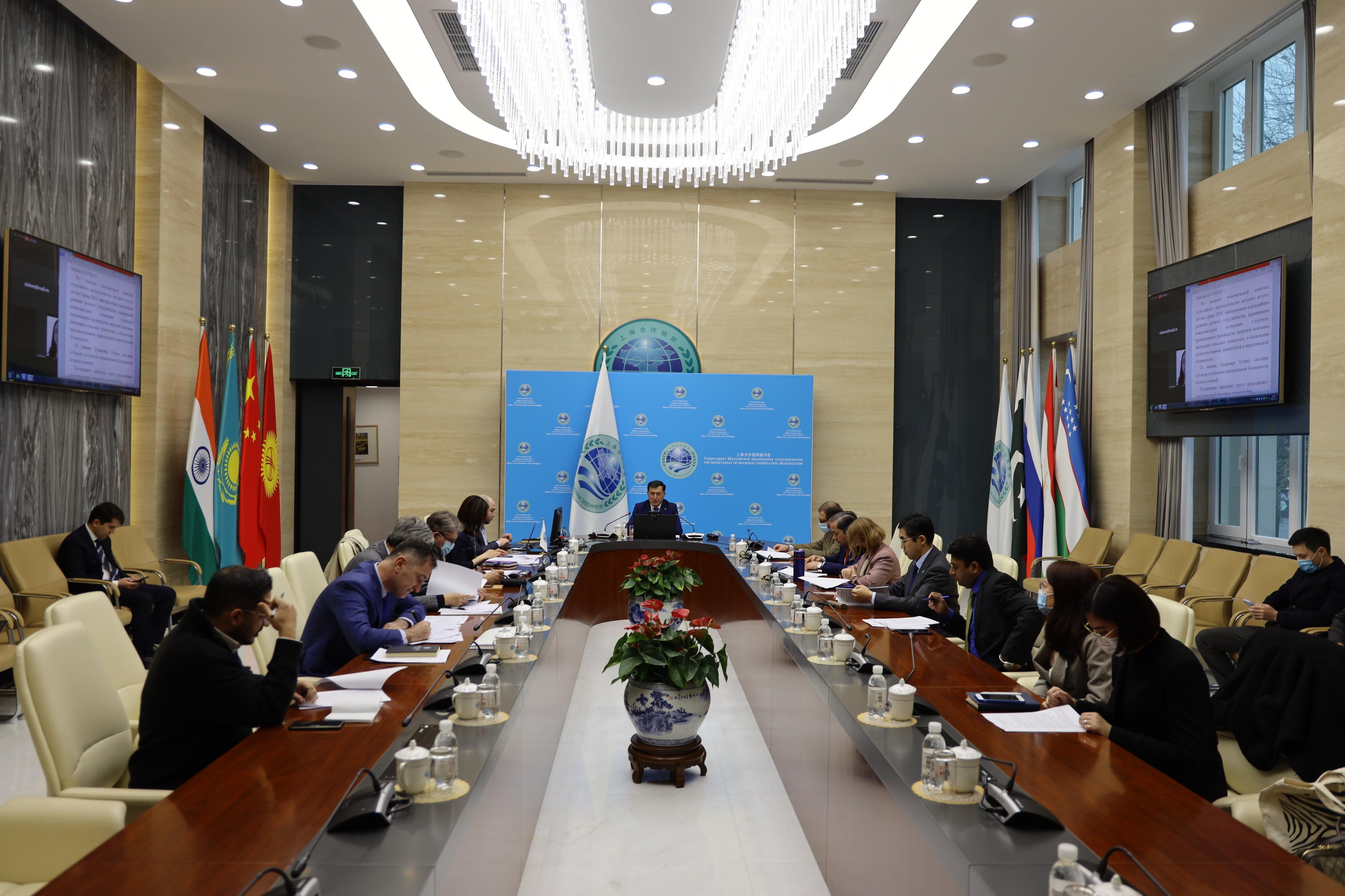 关于上合组织峰会会后的上合组织秘书长新闻发布会